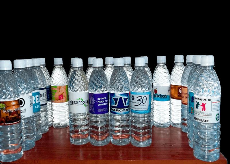 Tu marca en nuestras botellas